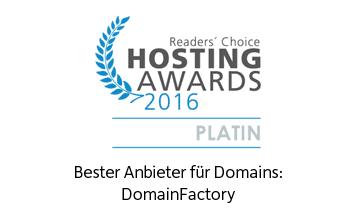 Hosting Award 2016